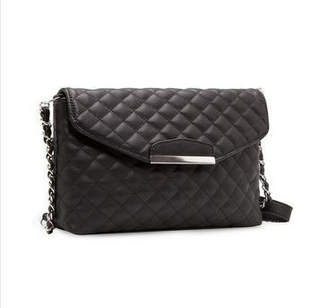 High Quality Hot 2015 New Fashion Brand New Women PU Handbags Casual Shoulder Quilted Chain Bag