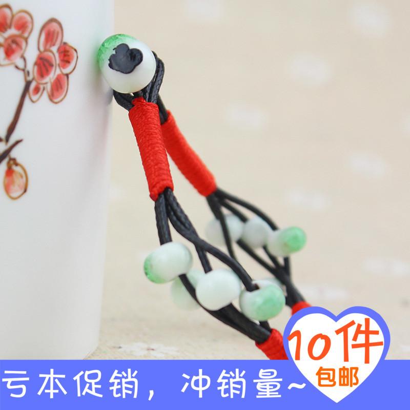 Jingdezhen Ceramic hand-knitted bracelet wholesale jewelry small fresh line led factory direct storm models(China (Mainland))