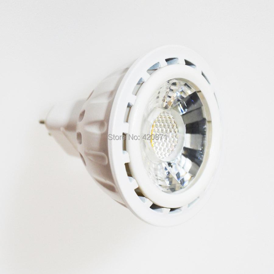 LED MR16 Spotlights COB LED Bulb GU5.3 12V Cold/Warm White Energy Saving 8W Equivalent to 60W Halogen Lamp for Home 2pcs/lot(China (Mainland))