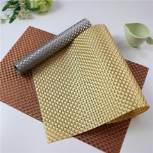 4Pcs/Lot PVC Placemat Bar Mat 30*45cm Plate Mat Table Mat Set Kitchen Hot Pads Kitchen Dining Bar Accessories Tools