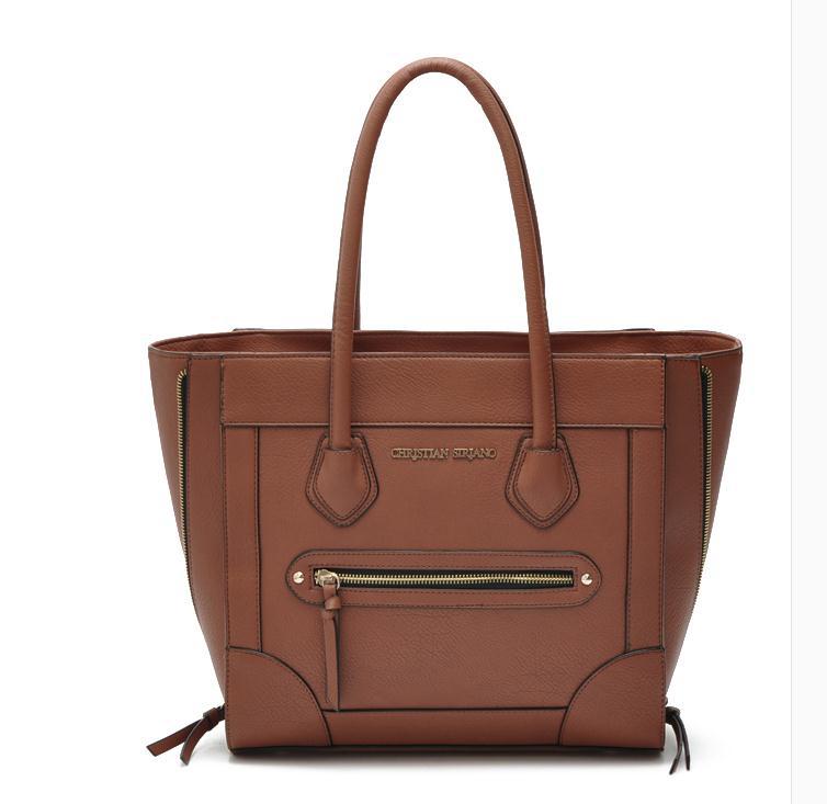 women fashion CHRISTIAN SIRIANO handbags tote Shoulder bags brown exalted Purses(China (Mainland))