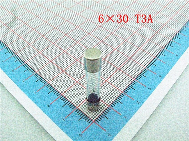 100pcs 6*30mm glass fuse 6*30mm insurance slow blow tube 250V T3A (3000mA) ,free shipping(China (Mainland))