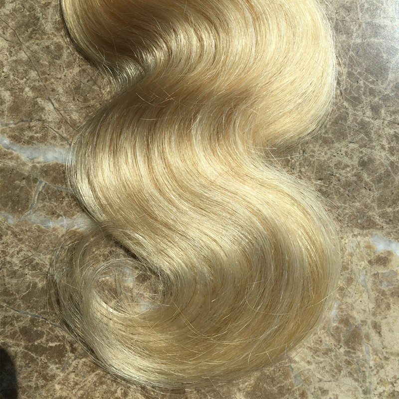 Full Shine Body Wave Brazilian 100 Real Human Hair Weaving One Bundle 100g Two Toned Color 1B Ombre Color 613 Fast Delivery