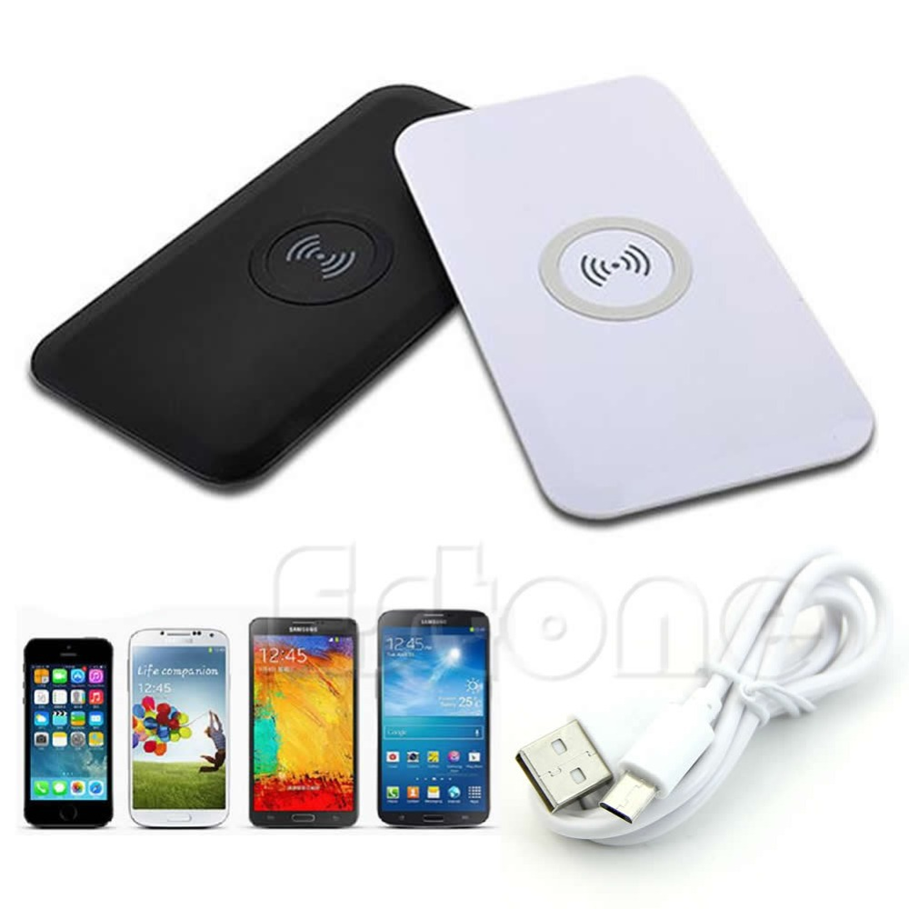 J151 Free shipping Non slip Qi Wireless Power Charging Pad