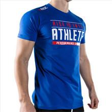 2016 Gym Athletics Printed T Shirt men Fitness and Bodybuilding tshirt homme moda Sport ropa deportiva hombre de marca 7 Model