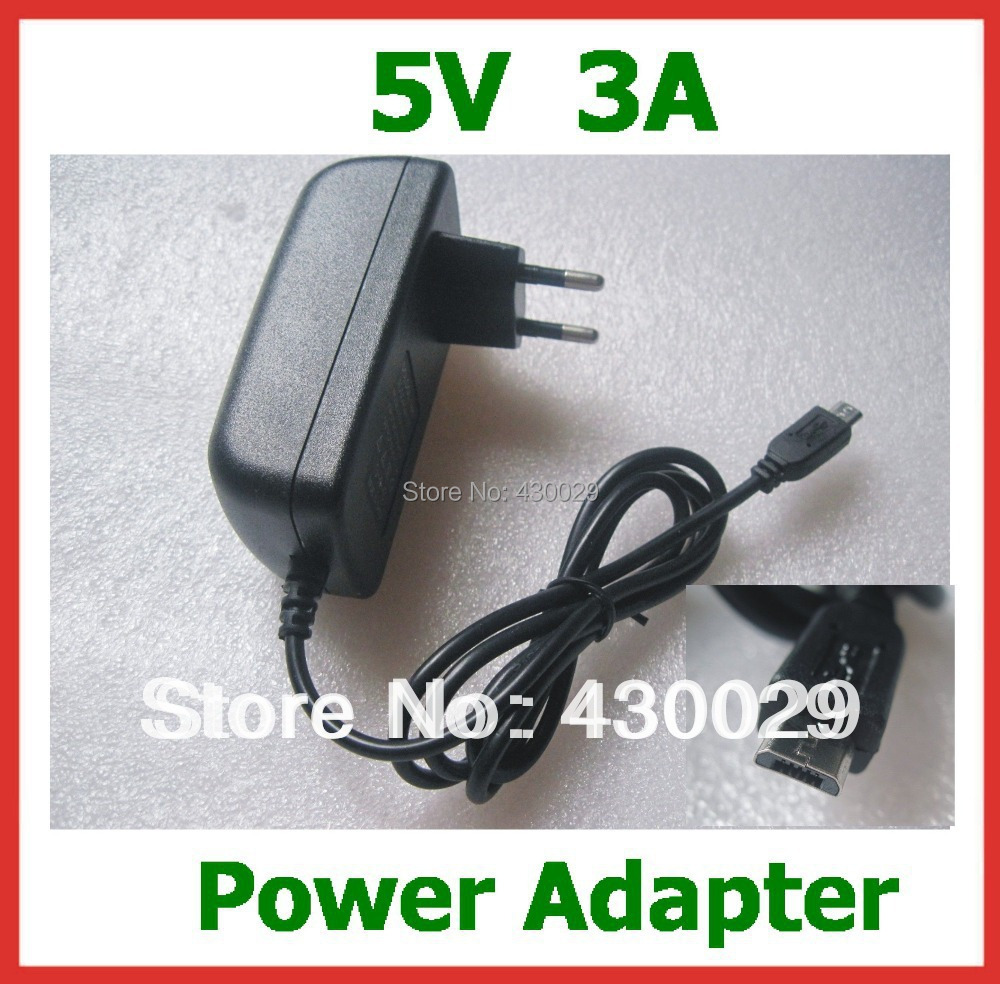 5V 3A Micro USB Charger for Tablet PC Google Nexus 7 Nexus10 U65GT V891W Teclast X98 Air 3G X98 pro Power Adapter Supply Real 3A(China (Mainland))