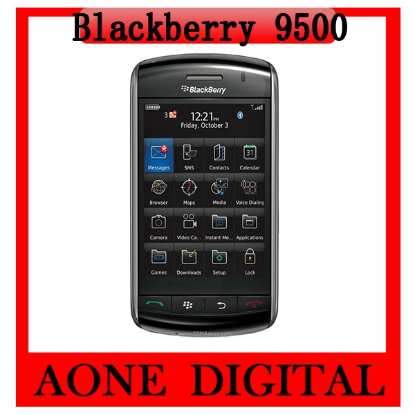 Original Refurbished BlackBerry Storm 9500 3G 3.15MP GPS Bluetooth Unlocked Phone Free Shipping by China Post(China (Mainland))
