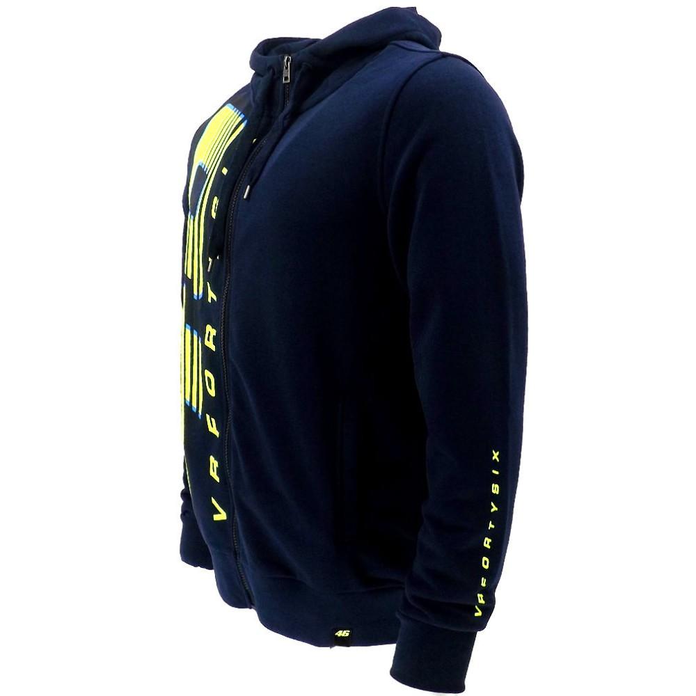 free shipping 2016 NEW Racing Valentino Rossi VR46 Large 46 Moto GP Hoodie Navy Sports  MOTOGP Motorbike Coat
