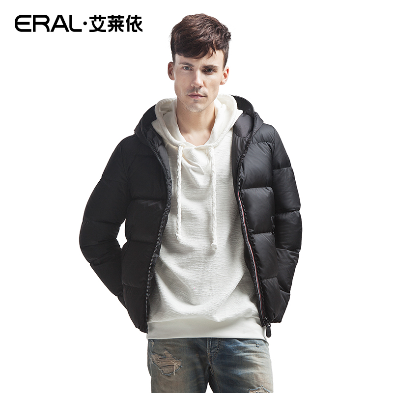 ERAL 2015 Winter Mens New Arrival Casual Thicken Short Hooded Down Jacket Outerwear ERAL9061DОдежда и ак�е��уары<br><br><br>Aliexpress