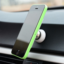 Superior  Universal Magnetic Ball Car Mount Holder GPS Mobile FOR iPhone 5 6 FOR Samsung S5 FOR HTC July31