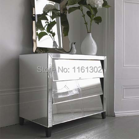 night stand side table tall boy mirrored furniture for bedroom