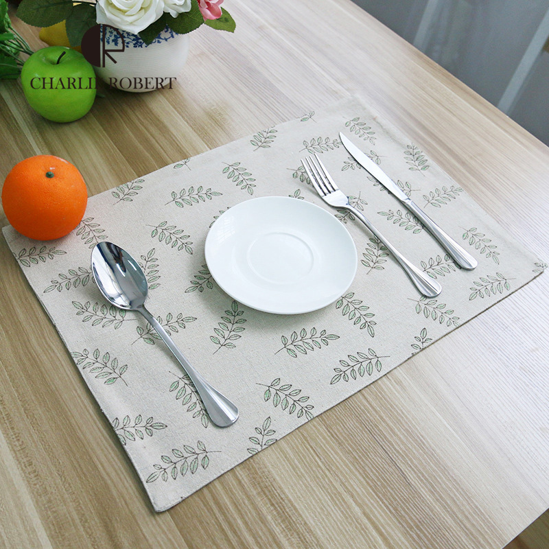 Table Setting Placemats For Dining Table Double Sided Printed Hot Insulated Koffiepads Thermal Cup Pad Hot Sale Posa Vasos(China (Mainland))