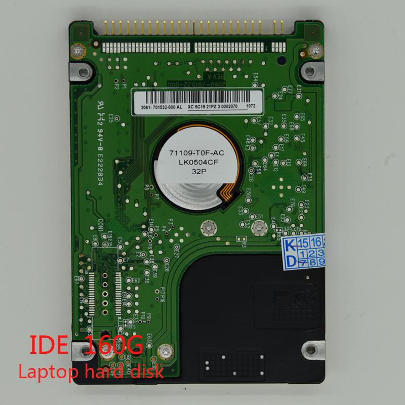 "100% original 2.5"" IDE 160GB HDD Internal laptop hard disk hard drive for notebook(China (Mainland))"