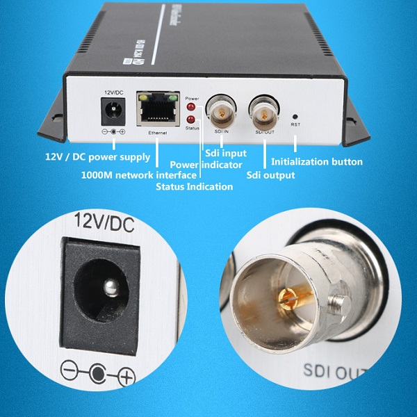 H.264 SDI VIDEO ENCODER 3G HD SDI IPTV Encoder,Live Stream Broadcast by RTMP HTTP RTSP for Wowza,Youtube,FMS(China (Mainland))