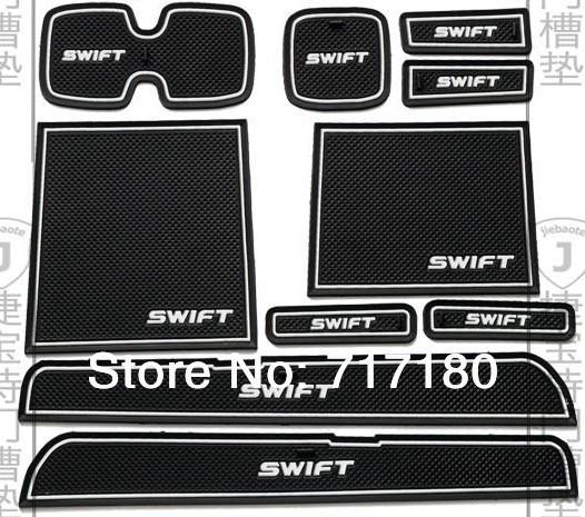 2005-2014 Suzuki Swift PVC anti-slip mat door gate slot pad/mat  tank gasket cup mat/pad auto accessories 3color<br><br>Aliexpress