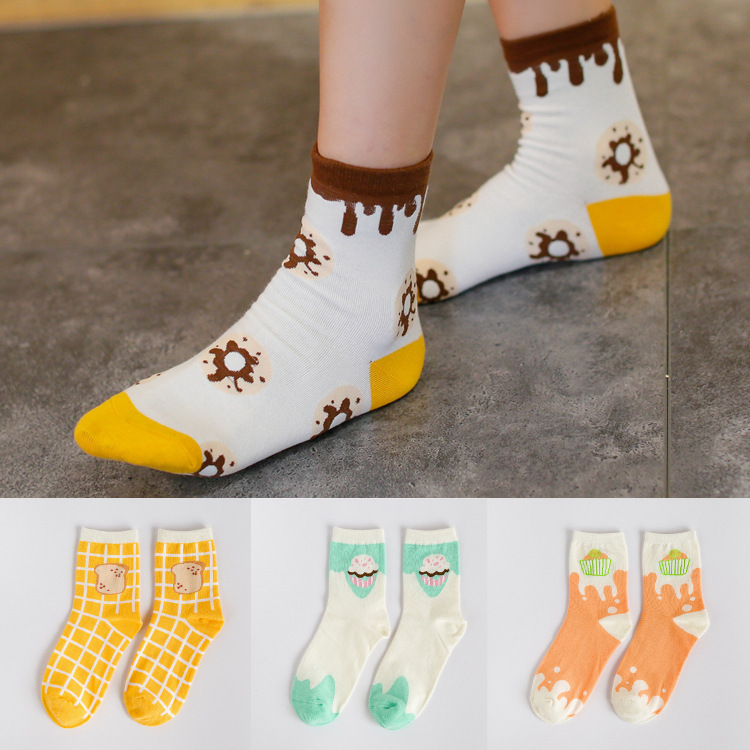 A092 cotton socks socks wholesale Android products South Korea fresh and lovely new autumn and winter cotton socks socks(China (Mainland))