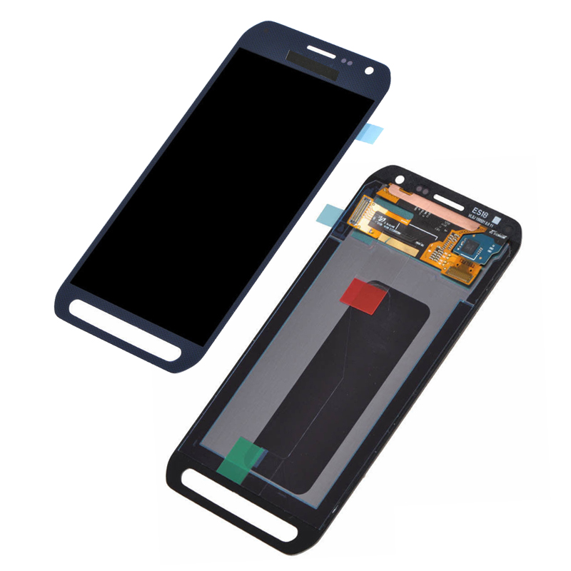 Para Cell Phone For Samsung Galaxy S6 Active G890 G890A LCD Screen Display Touch Digitizer Blue Screen repair S6 G890 LCD screen(China (Mainland))