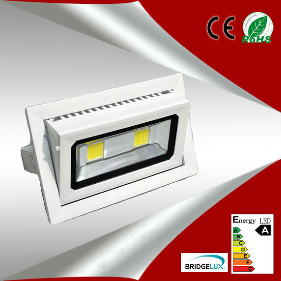 square 45W COB led downlights,  square 45W COB led Ceiling light,   rotate the angle ,SMD5730<br><br>Aliexpress