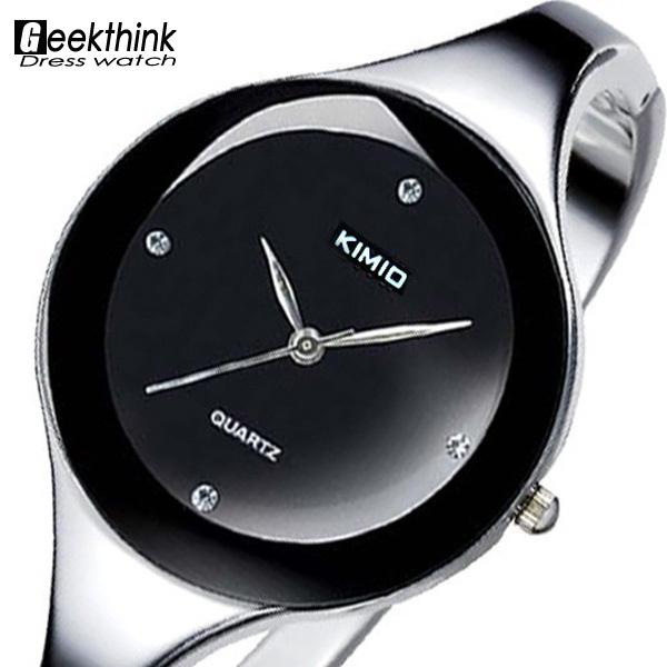 Brand Stainless steel Wristwatch Bangle Bracelet Woman Ladies Diamond Clock Female Dress Quartz Wrist Watch Relogio Feminino(China (Mainland))