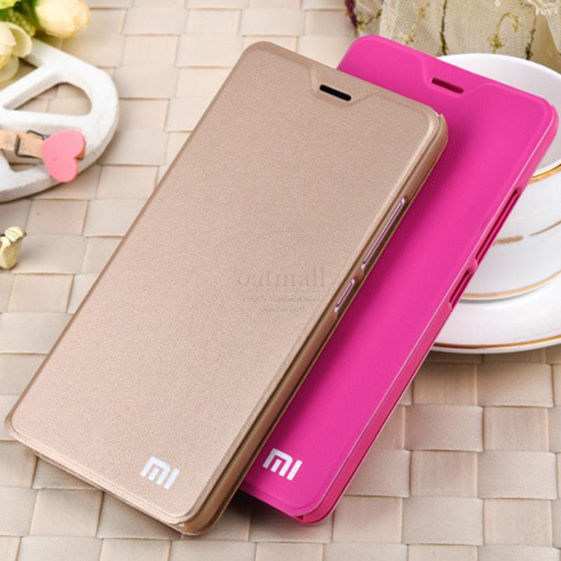 Гаджет  New Luxury PU Leather Smart Flip Cover For Xiaomi Redmi Note 2 Case With Stand Original Hongmi Note 2 Fundas Mobile Phone Bags None Телефоны и Телекоммуникации