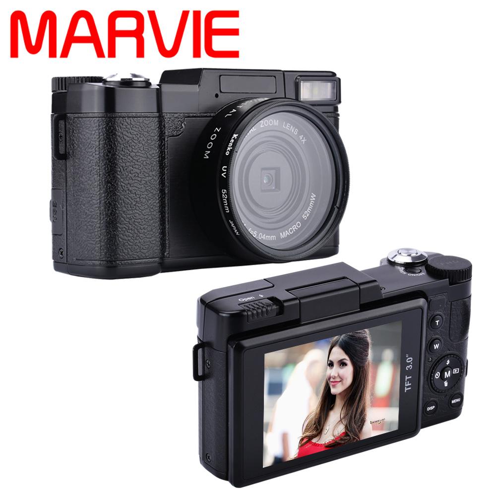 Marvie G02 24MP HD Half-DSLR Professional Digital Cameras with 4x Telephoto,Fisheye & Wide Angle Lens Cameras Macro HD Cameras(China (Mainland))