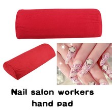 Free Shipping New Soft Hand Cushion Pillow Rest Nail Art DIY Manicure Art Salon GUB#(China (Mainland))