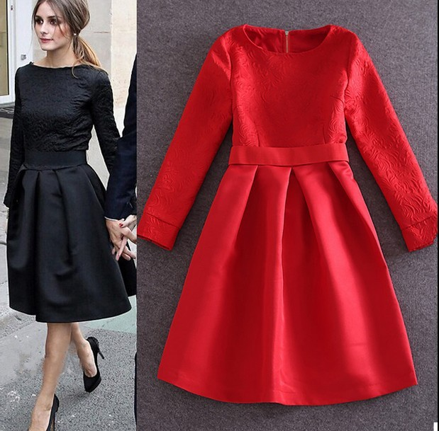 winter dress fashion Picture - More Detailed Picture about 2 color ...