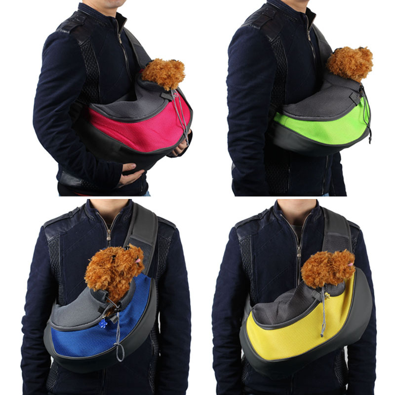 Onfine Pet Dog Cat Puppy Carrier Mesh Travel Tote Shoulder Bag Dog Backpack Free Shipping&Wholesales(China (Mainland))
