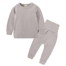 Neue Auflistung 2019 Herbst & Frühling Baby Schlafanzug Anzug Schöne Gilr Pyjamas Kinder Pyjamas Mädchen Pijamas Kinder Kleidung setDCC036-1(China)