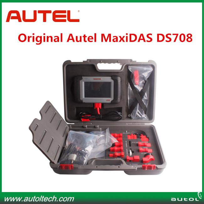 Free update And Original Car Diagnostic scan tool ds708 autel maxidas ds708 car scanner diagnostic tool(China (Mainland))