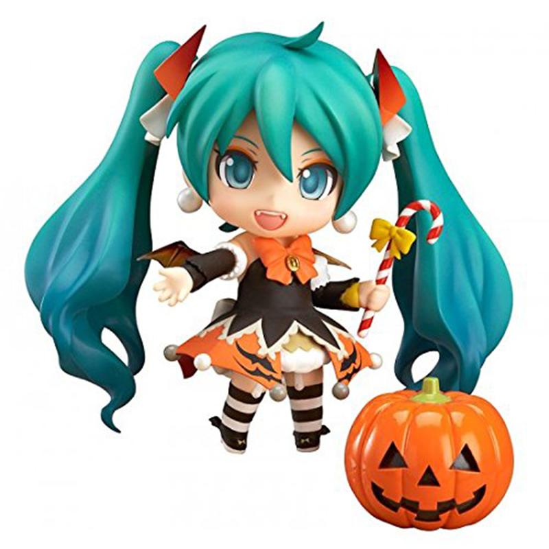 Nendoroid Hatsune Miku Halloween Ver. #448 PVC Action Figure Model Collection Toy 10CM, Anime model Birthday / Christmas gifts()