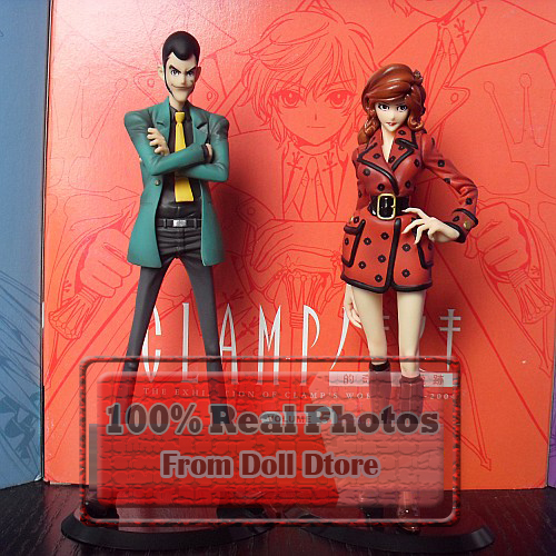 17-18cm pvc Japanese original anime Lupin the third /Mine Fujiko action figure kids toys for boys collection model toys(China (Mainland))