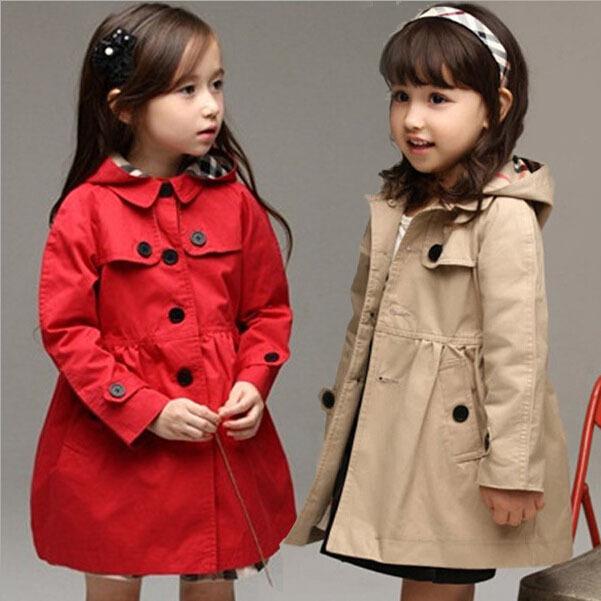 Гаджет  New 2015 Spring Girls Wind Coat cardigan jackets Hotsale Children Trend Style jackets for girls Kids Winter trench coat , YC042 None Детские товары