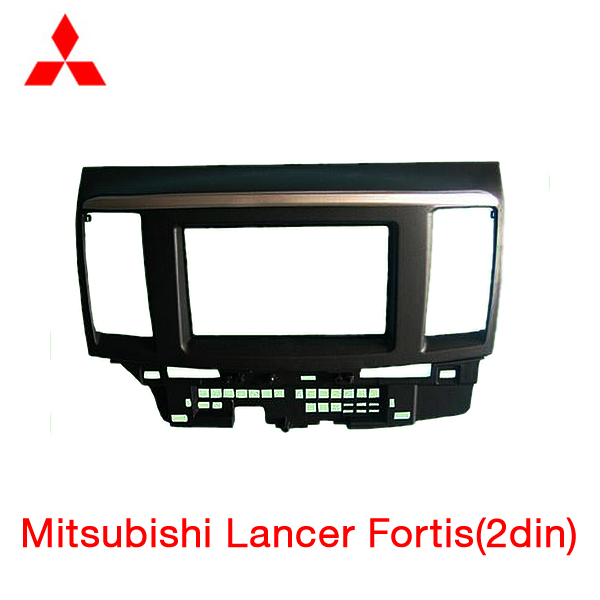 --Car refitting DVD frame,DVD panel,Dash Kit,Fascia,Radio Frame,Audio frame Mitsubishi Fortis Lancer,2DIN