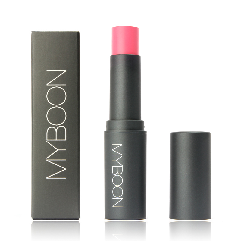 2016 Myboon 4 Colours Portable Blush Makeup Stick Travel and Work Use Long Lasting Fix Mineralize Blush Hot Cosmetics MN015(China (Mainland))