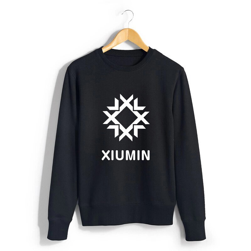 Tracksuits Sweatshirt Sailor Moon Exo Kris Tao Clothing Pullover Do Xiumin Kal Suho Chen Emoji Clothes Hoodie Bigbang Kpop Coat(China (Mainland))