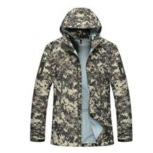 men jacket military clothing hardshell hunting clothes camouflage army autumn jacket and coat for men multicam windbreaker coat(China (Mainland))