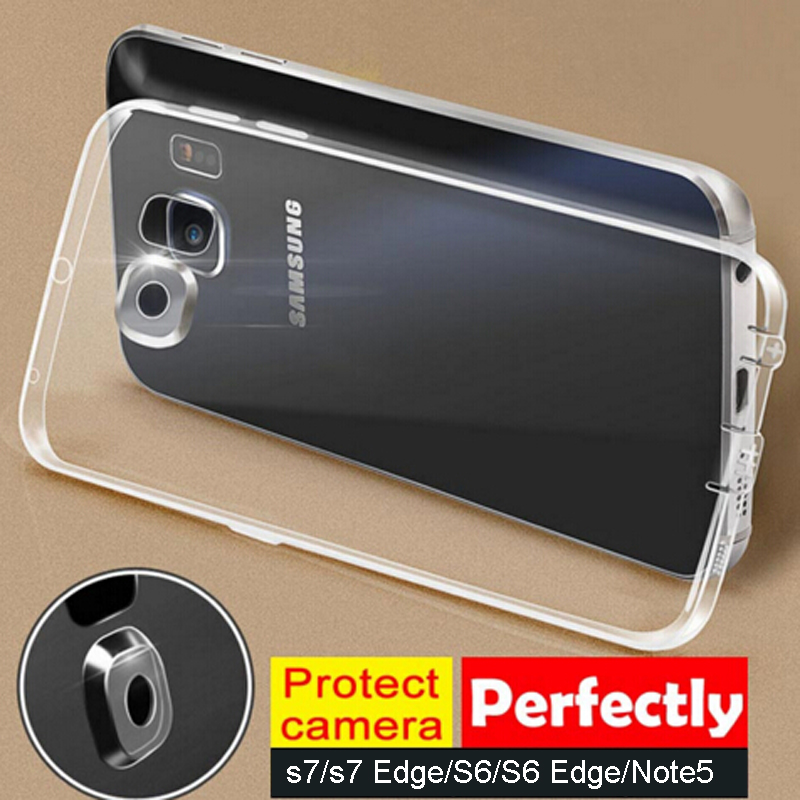 Soft Tpu Case Cover Full Camera Protector For Samsung Galaxy Note 7/Note 5/S7/S7 Edge/S6/S6 Edge/S6 Edge Plus/iphone 6 6s/plus(China (Mainland))