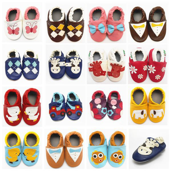 Sayoyo Brand Baby Shoes Girls Cow Leather Baby Moccasins Sapato Baby Sneakers Toddler Soft Soled Infant Baby Shoes First Walkers()