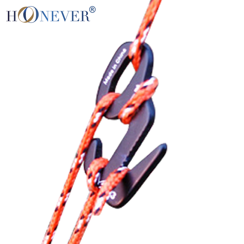 10pcs Tent Axeman 9 Buckle Canopy Tent Rope Stopper Aluminum Tight Bundle Tent Rope Puller Outdoor Equipment(China (Mainland))