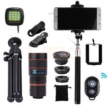 Buy 15in1 8x Zoom Telephoto Lens Fish eye Lenses Wide Angle Macro Lentes iPhone Samsung Xiaomi redmi 2 3 S 4 note 3 MI4 MI5 MI6 for $18.22 in AliExpress store