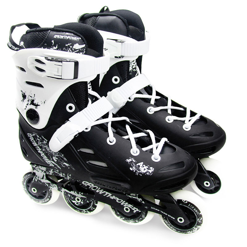 2015 Rollerblade Fusion 84 GM Adult Professional Inline Skates Roller Skating Shoes Good Quality Slalom/Braking/FSK Hockey Patin<br><br>Aliexpress