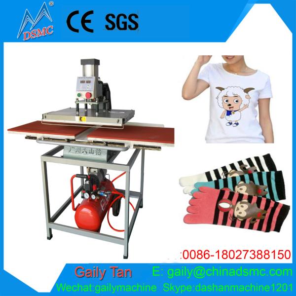 40 60cm air compressor pneumatic heat press machine for t for Heat press shirt labels