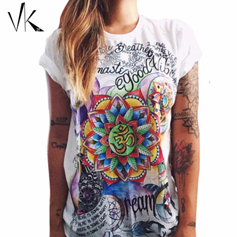 S-XXL-Plus-Size-Graphic-Tees-Women-T-Shirt-Hip-Hop-Feminino-Punk-Rock-Shirt-Print
