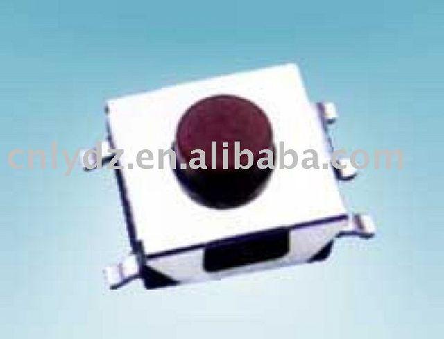 Interruptor del tacto smd 6 x 6 / pin de tacto / miniatura interruptor de botón LY-A06-D6