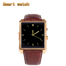 New LF06 Bluetooth Smart Watch DM08 Smartwatch Luxury Leather IPS Business Wristwatch For Apple iPhone & Samsung Android Phone