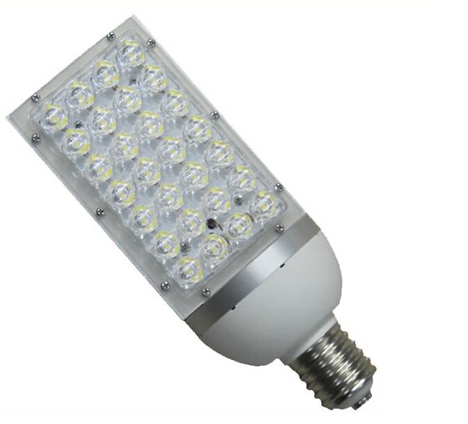 (4pcs/lot) AC 85-265V 28W E40 LED Street Lamp 28*1W LED Street light Road lamp patio lights warm white Cool white road lamp(China (Mainland))