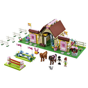 Bela Friends Girls Series Maya Farm Horse Building Blocks Model Kit, Educational Toys Enlighten Train Compatible with lego(China (Mainland))