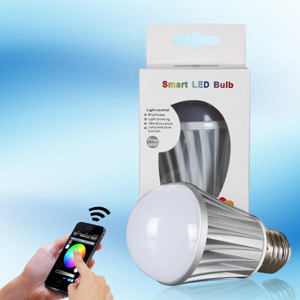 alibaba express innovative energy saving product led wifi light bulb rgbw rechargeable(China (Mainland))