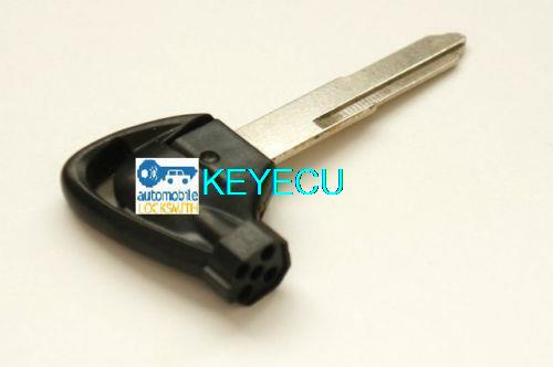 Replacement Case Transponder Motorcycle Motorbike Key Shell with Magnet Type A For Suzuki GEMMA250/400/650 Black Color <br><br>Aliexpress